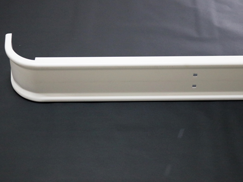 25817 REAR BUMPER, WHITE AV WRAP
