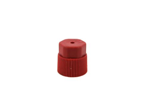 07000336 RED 16MM CAP, SERVICE PORT FILL