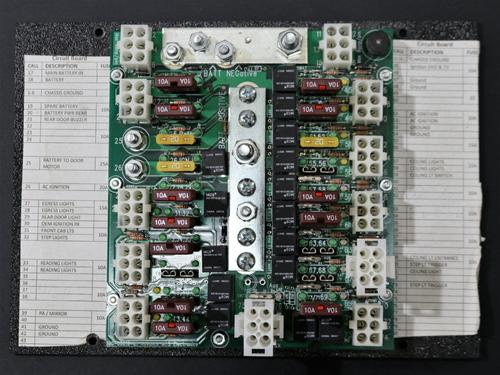 071-001-068 Control board, main, Ameritrans