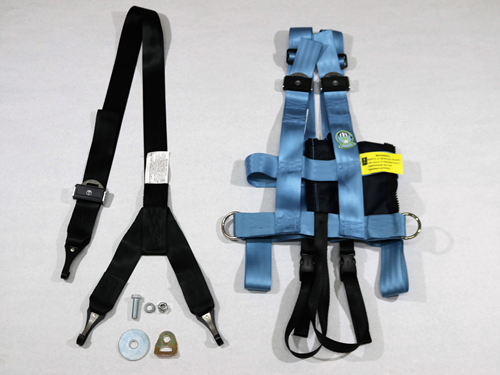 103Z-TC-S SMALL VEST, TETHER MOUNT