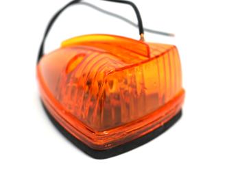 116367 CAB AMBER TEARDROP LIGHT ASSY