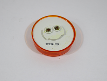 116433 2.5 IN LED /ROUND/AMBER/
