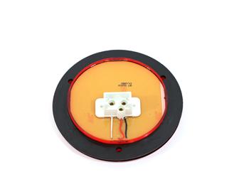 117574 LIGHT, 4 INCH LED RED W/ REFLEX RING