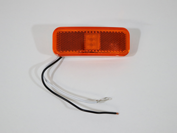 1201157 6-LED yellow marker/clearance light with reflex, 2-wire
