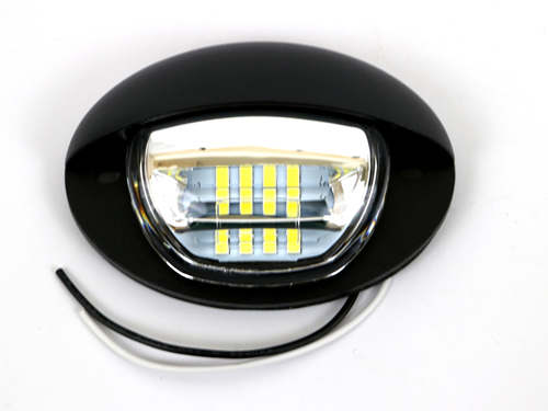 13363 STEPWELL LIGHT, BLACK, LED 2.5