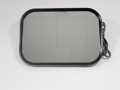 2502 MIRROR HEATED S/S, 10.5