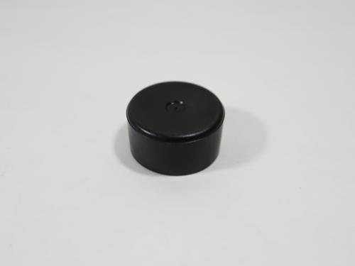 25550 CAP, ROUND BLACK