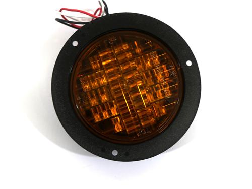 18424 FRONT TURN SIGNAL, 24V AMBER LED, EZ RIDER