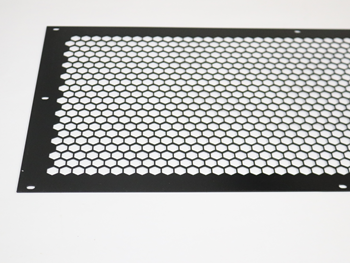 301799.01 SCREEN ASSY, 3-FAN, BLACK