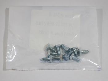 34518 SCREW, HEX 1/4 INCH-20 X 1/2 INCH