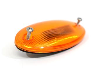 3529900C98 AMBER OVAL MARKER / LED