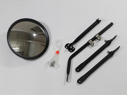 50-805 FULLY ADJUSTABLE CROSS-OVER MIRROR WITH HEAD