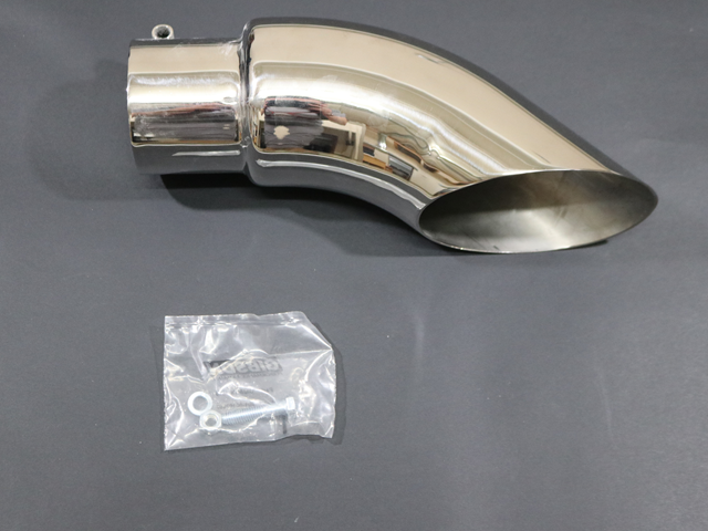 500386 3 IN. INLET 4 IN. OUT SS. TURNDOWN EXHAUST TIP