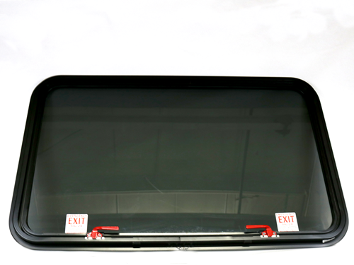 11346 WINDOW, REAR EMER.