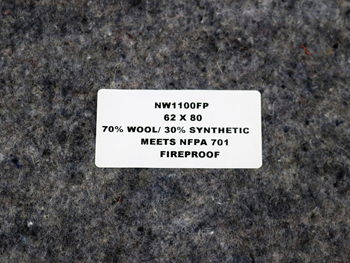 650200BR BLANKET, FIRE