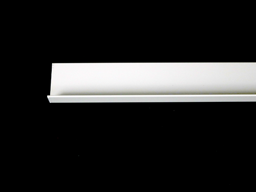 BS020818 EXTRUSION, ANGLE, WHITE 3/4 X 2