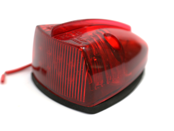 ECVMLT351R LAMP, TRIANGLE RED LED