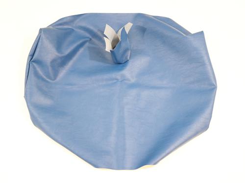 GIM60032.0031.SQ3PT IMMI SEAT COVER BOTTOM GIRARDIN 42OZ BLUE W/ 3PT, SQARE HOLE
