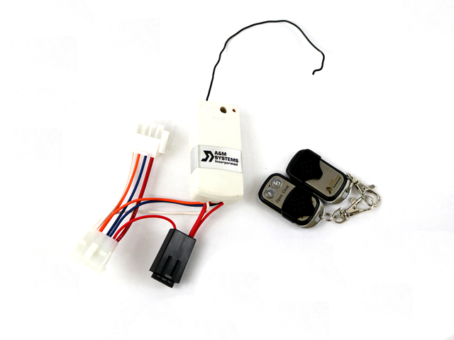 RECEIVER & KEY FOB KIT W/ WIRE HARNESS-K9103