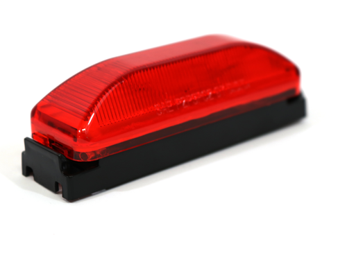 MC67RK RED CLIIP ON MARKER LIGHT / 2 BULB