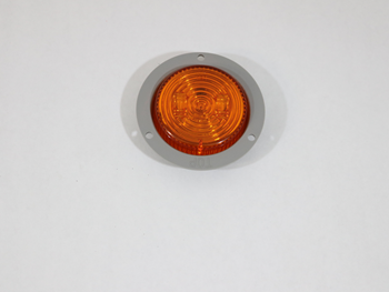 MCL527AFB 2.5 IN FLANGE MOUNT/ AMBER/ LED MARKER/CLEARANCE LIGHT