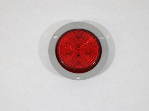 MCL527RFB 2.5 IN FLANGE MOUNT/RED/ LED MARKER/CLEARANCE