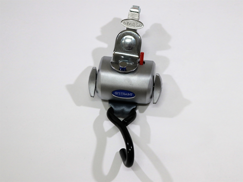 Q8-6200-L SINGLE, FULLY AUTO QRT RETRACTOR, DELUXE W/L-TRACK FITTING