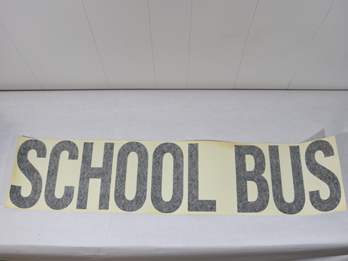 VM006 DECAL SCHOOL BUS